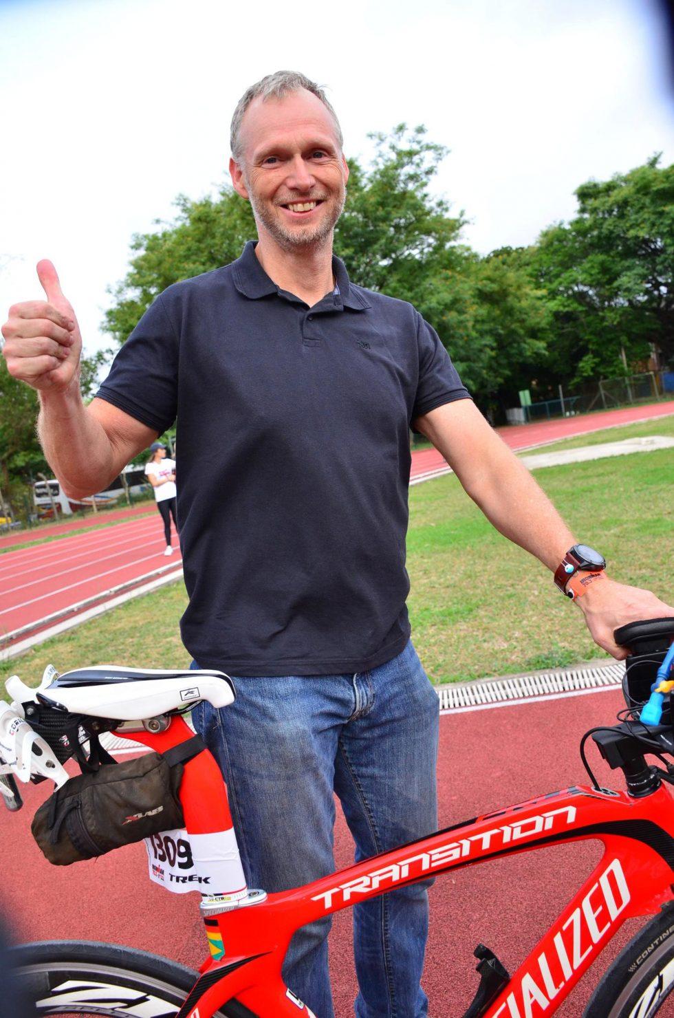 Bike check in IM 70.3 SP