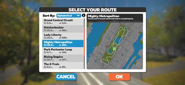 Mighty Metropolitain Zwift NY Sporttechtips