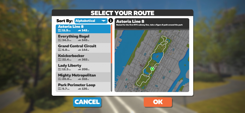 astor Line zwift NY Sporttechtip´s